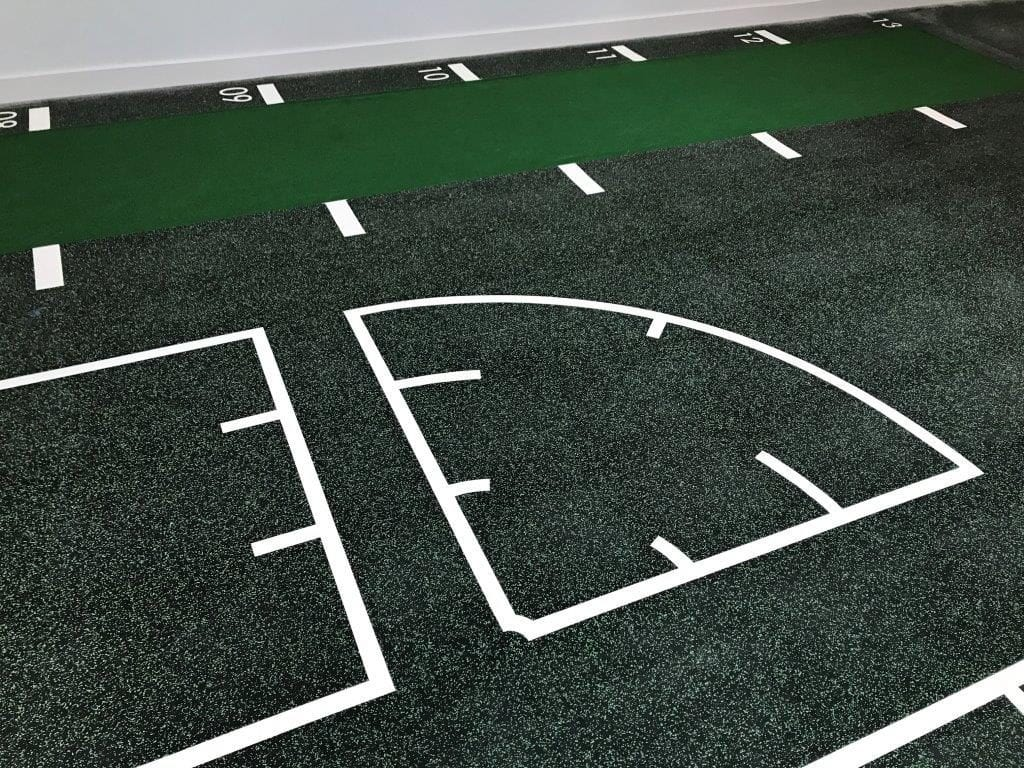 Leisure centre Uni-turf sports floor installation by Sports Surfaces UK