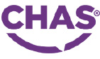 CHAS Logo on Sports Surfaces UK website