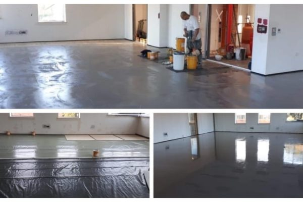 Pulastic fitness studio floor installation by Sports Surfaces UK