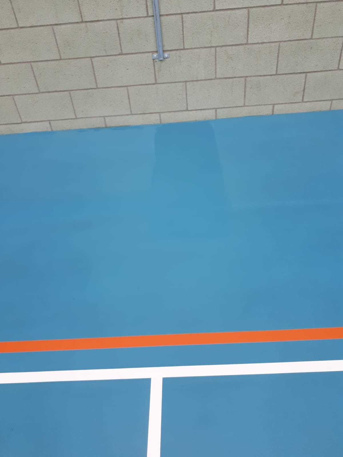 Indoor Multiuse Sports Floor Repair and Deep Clean