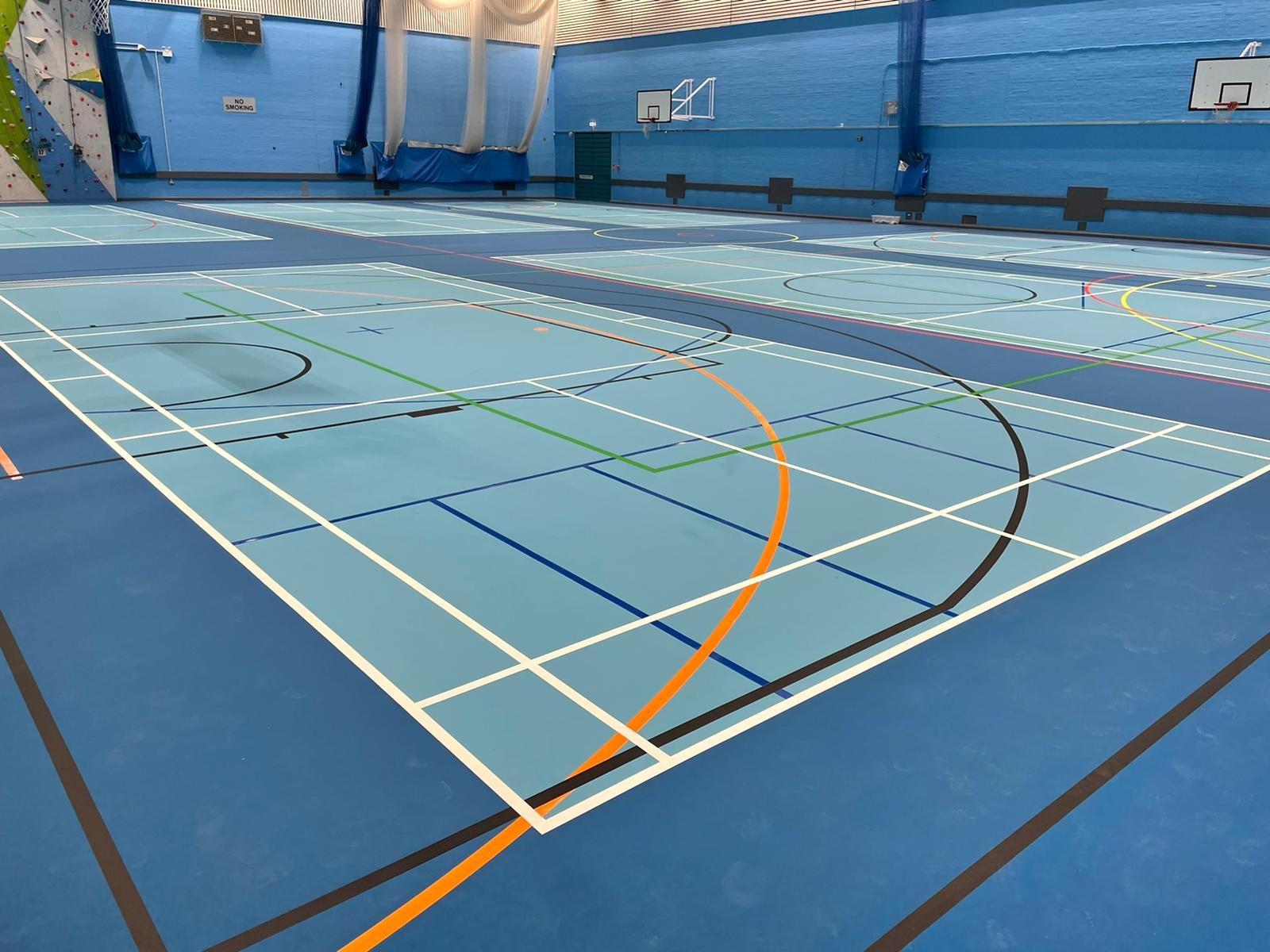 Pulastic facelift indoor polyurethane sports flooring