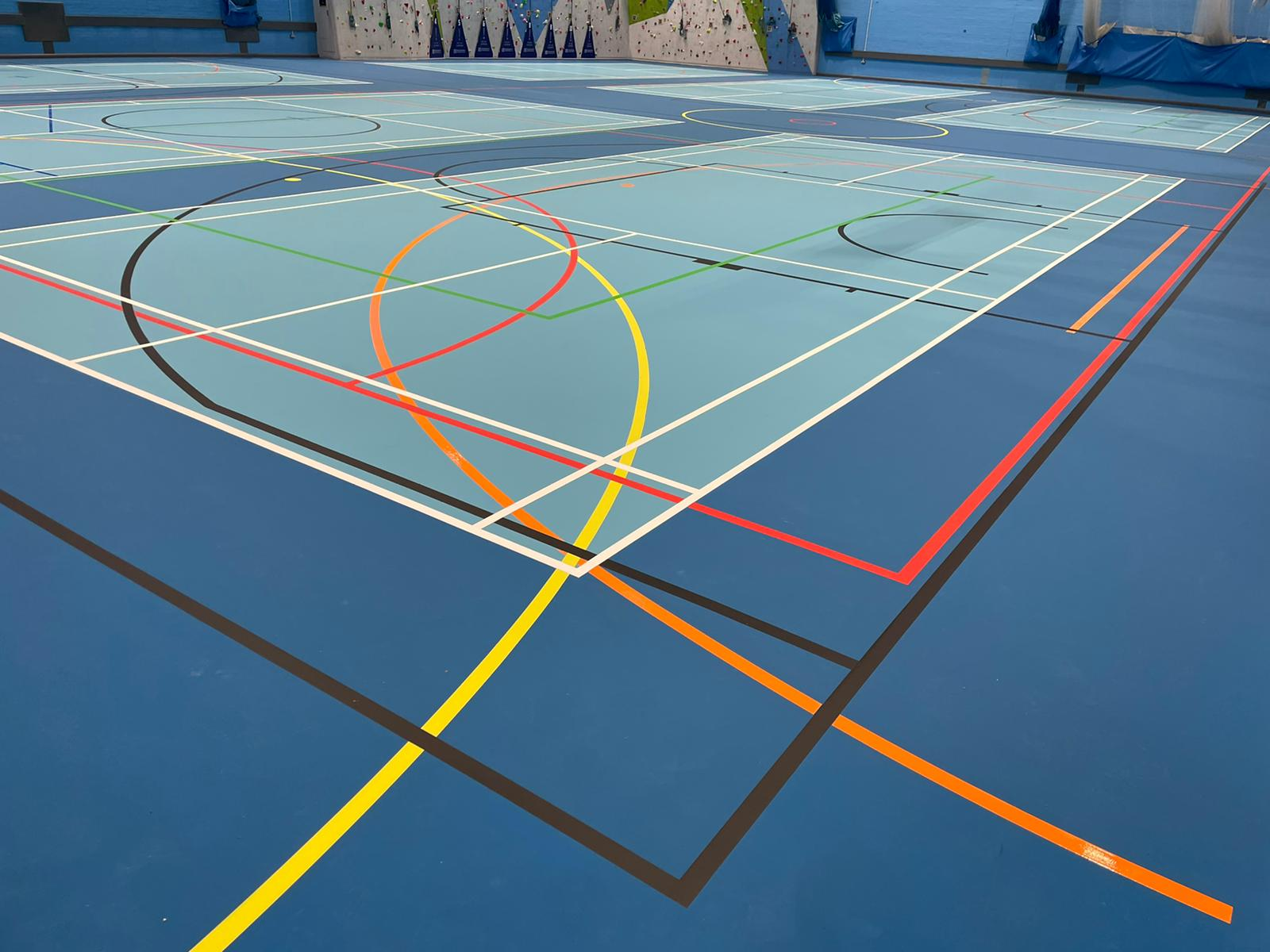 Sports Halls across the UK are playing a vital part in the fight against Covid.