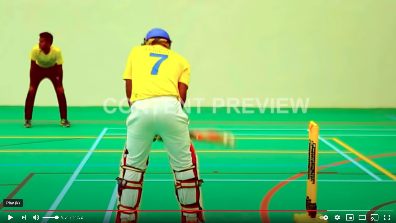 Sri Ramachandra Institute of Higher Education & Research -Uni-Turf indoor cricket floor