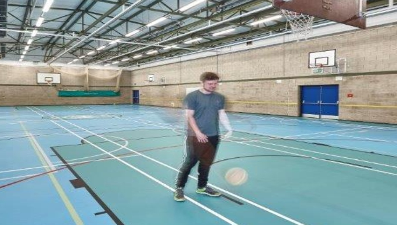 Helsby High School Pulastic Multiuse Indoor Sports Floor Sports Surface