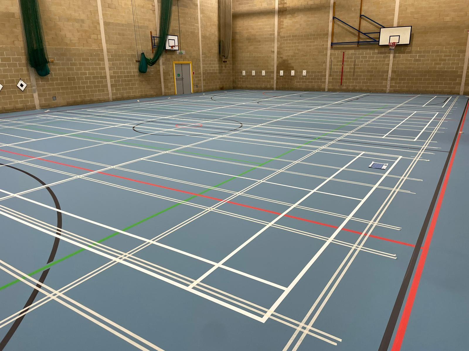 Indoor sports floor London