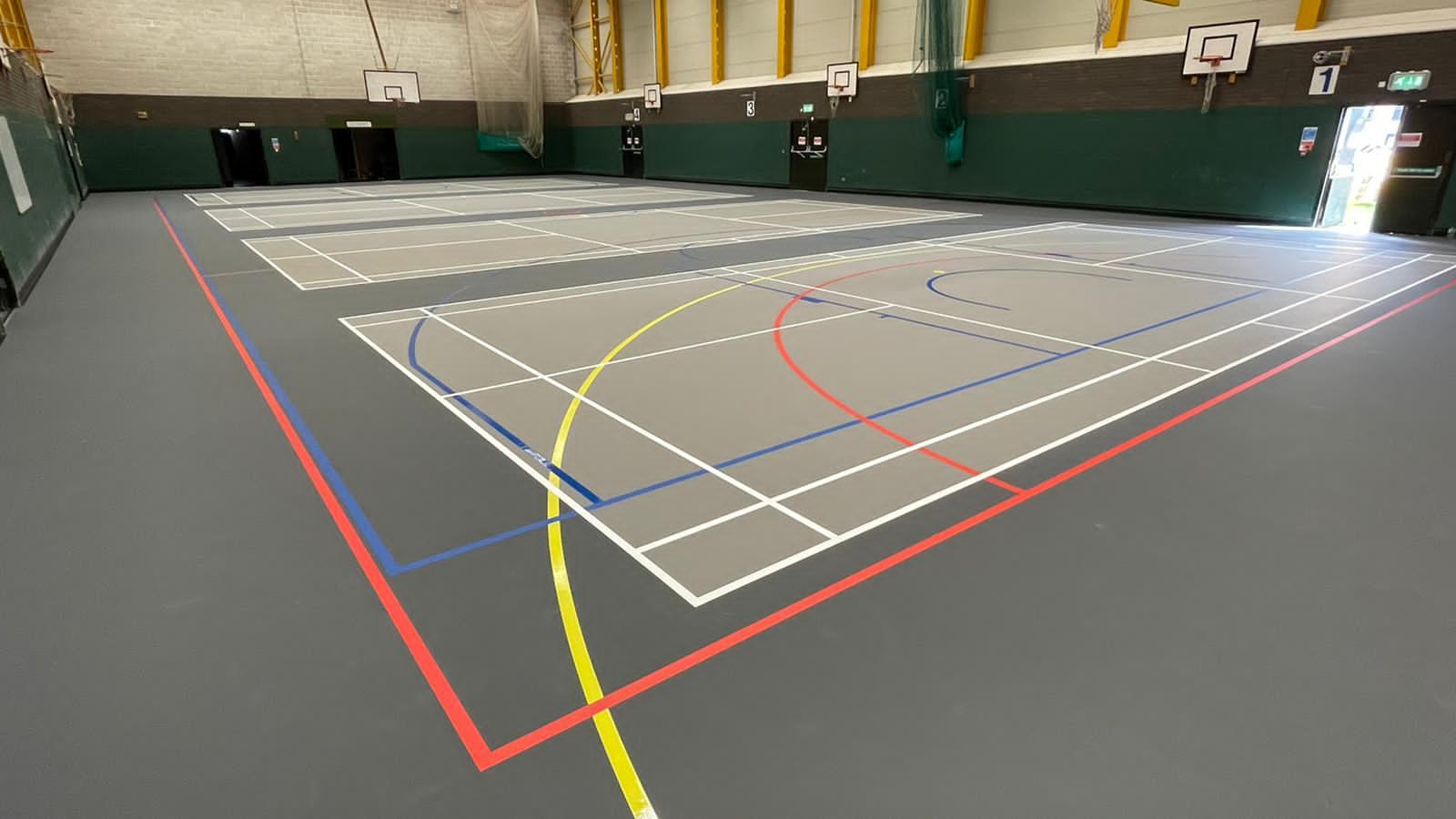 Manor Farm Multiuse indoor sports floor