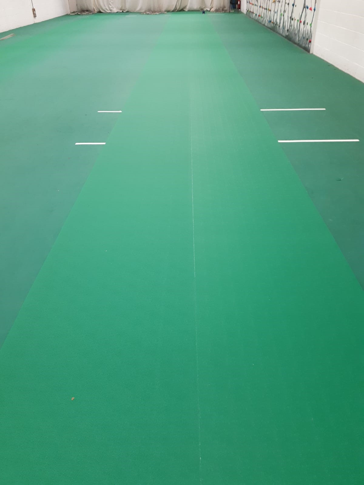 Uni-Turf Cricket Indoor Sports Flooring Refurbishment